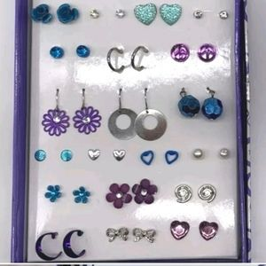 NWOT Boxed Set - 20 pair Kids Earrings